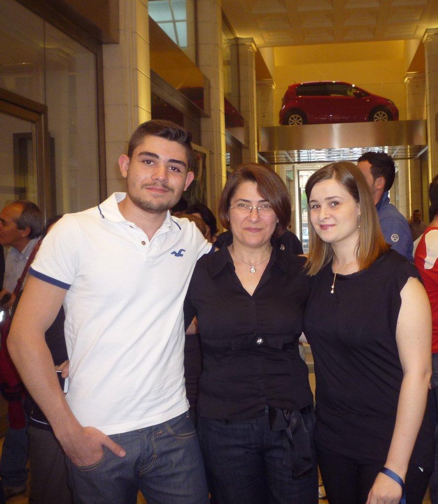 Mario, Rosita e Chiara  Lipari