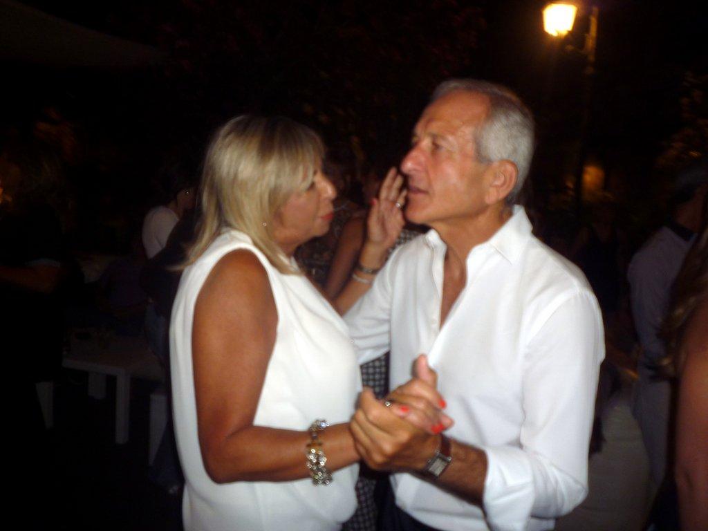 Maria Grazia Amore e Claudio Cinà