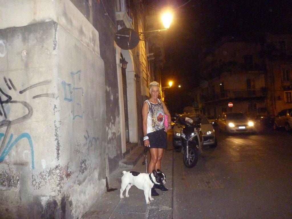Emilia Mignemi col fido Turi