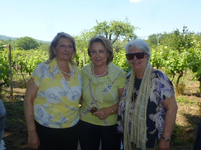 Francesca Grassi Bertazzi, Cettina Zizza, Gloria Catania