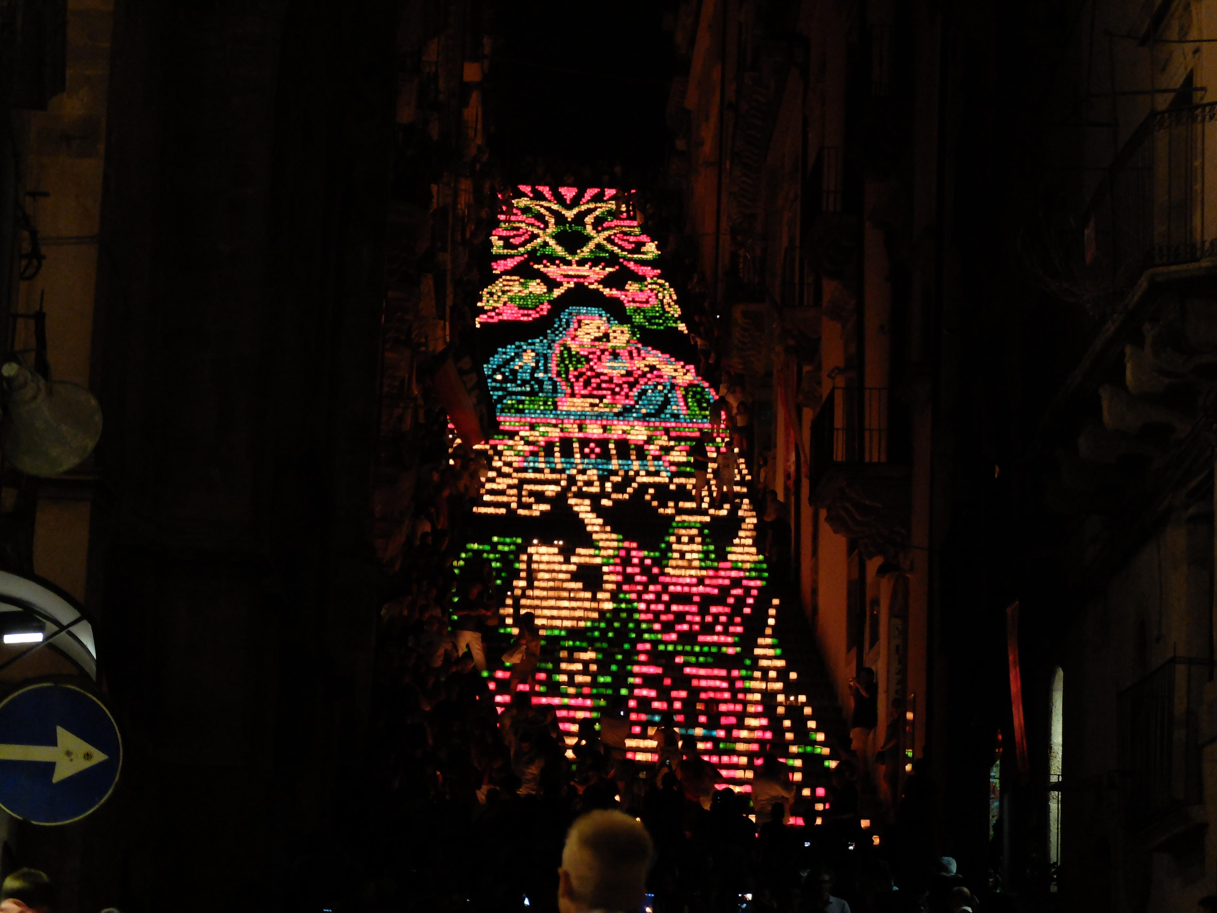 la Scala  illuminata