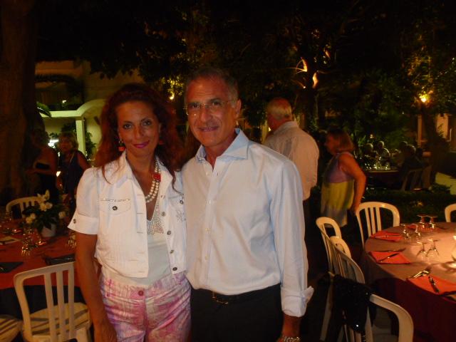 Marika  Cappellani e  Luciano Sfogliano