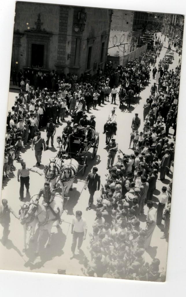 Il Corteo Storico nel 1958