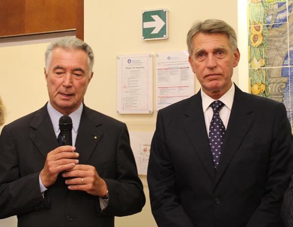 Gianni Zonin e Marino Breganze