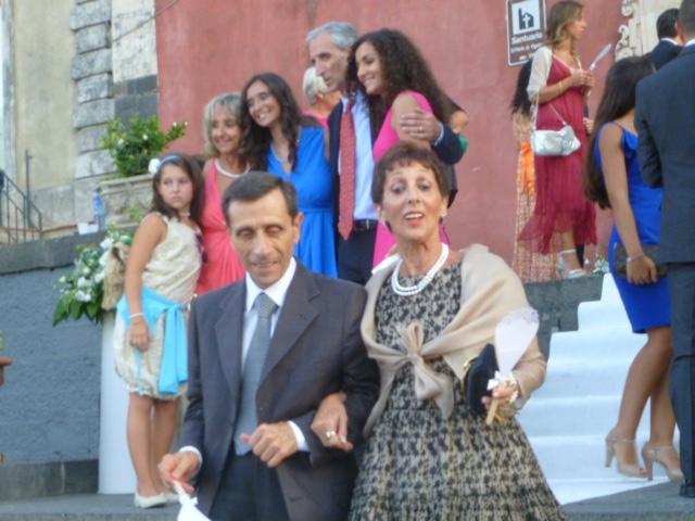 Giuseppe Majorana e Carla Majorana Dal Bello