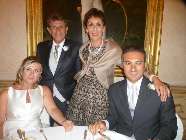 Gli Sposi con Carla  e  Michele Majorana