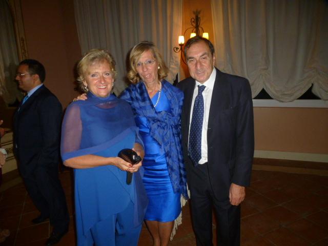 Fernanda Paterno' castello Majorana, Rosemary e Antonio Di Guardo