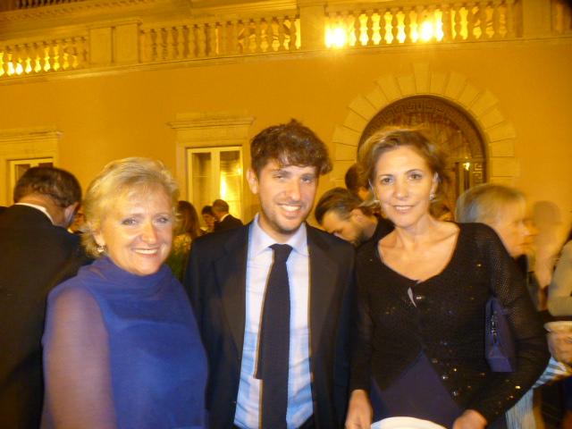 Fernada Paterno' Castello Majorana col figlio claudio e la  cugina Aurora Pace