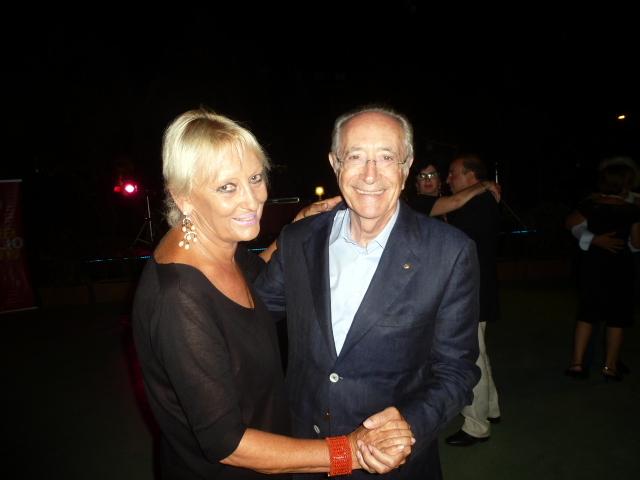 Lella e Piero pavone