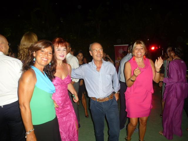 Giovanna Benevetano, Silvia Salmeri, Guglielmo Beneventano, Gianna Azzaro
