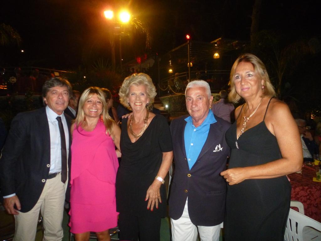 Ninni e  Gianna Petringa, Marilisa   e Sergio Sciuto, Ina  Tarro