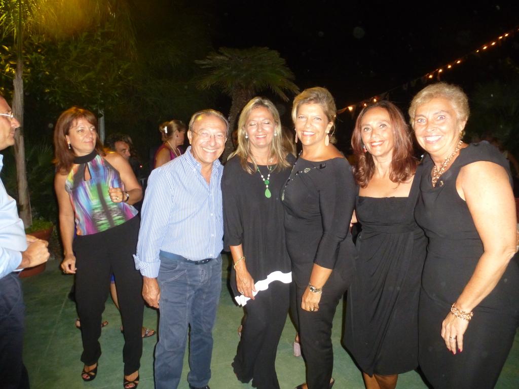 Gianfranco e Lorena Lo Sciuto con Adriana Milana e Brunella  Bertolino