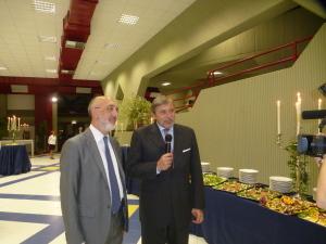 IL Magnifico Rettore  e  Alessandro Cappellani