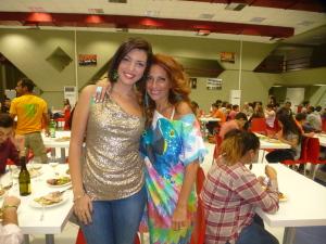 Marika  Cappellani con la  figlia