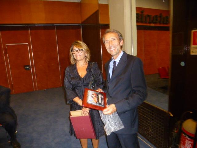 Serafino La  Delfa  e la  moglie