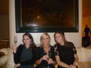 Emilia Spampinato, con Eugenia e Vittoria Floresta