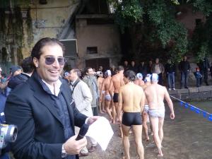 Alla  San Silvestro a Mare d el 2010 ( questo 2014 promette di gareggiare ...!!)