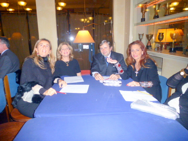 Gioi Spoto Puleo,Lilia Petrina,Alessandro e  Marika Cappellani