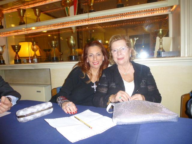 Marika Gibiino  con la  madre