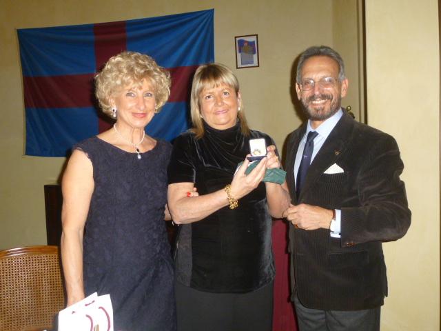 Valeria Grasso con emma e Francesco Calabrese