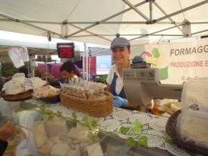 Mariangela  catania , azienda il Gaetello, formaggi d'eccellenza