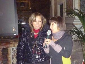 Antonella Mandala' e  Fulvia Caffo