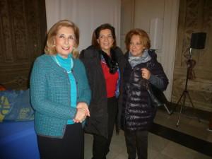 Daniela Di Stefano, Adriana Molina e  Cettina Pennisi