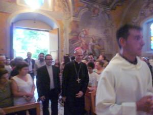 il Vescovo di Acireale.S.E. ANTONIO RASPANTI