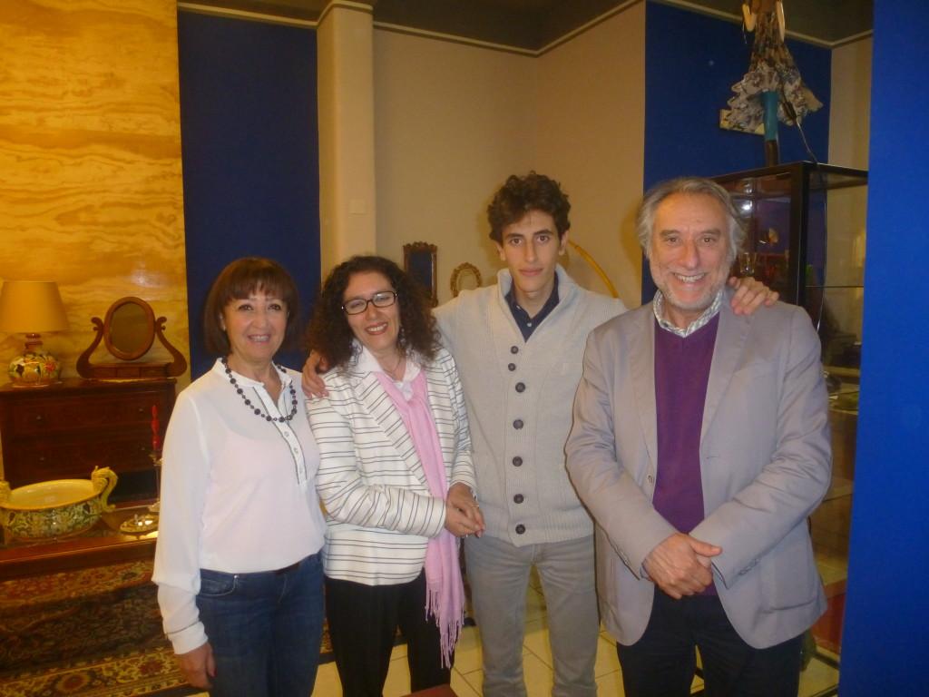 FULVIA CAFFO,MARISA,AMEDEO E SANTO BUCCHERI