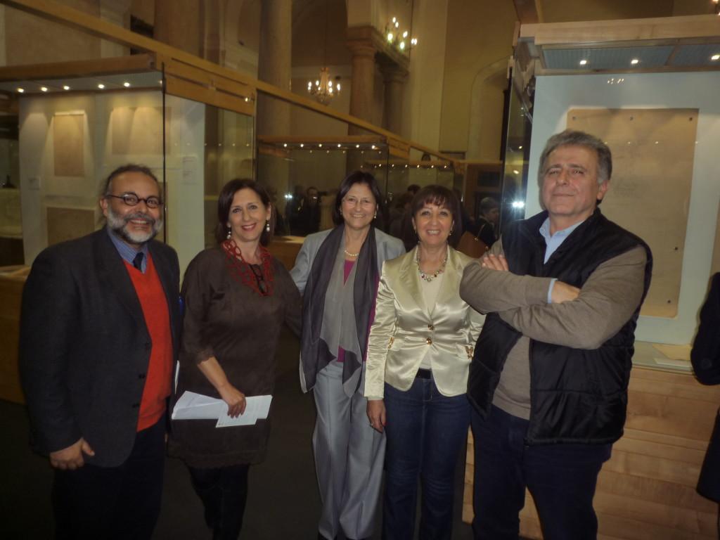 VITTORIO PERCOLLA,ABA D'ARRIGO, LUISA PALADINO, FULVIA CAFFO ,GEDO CAMPO