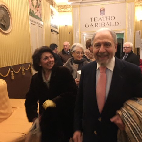 ROSITA PRATO E ANTONIO CAPRARICA
