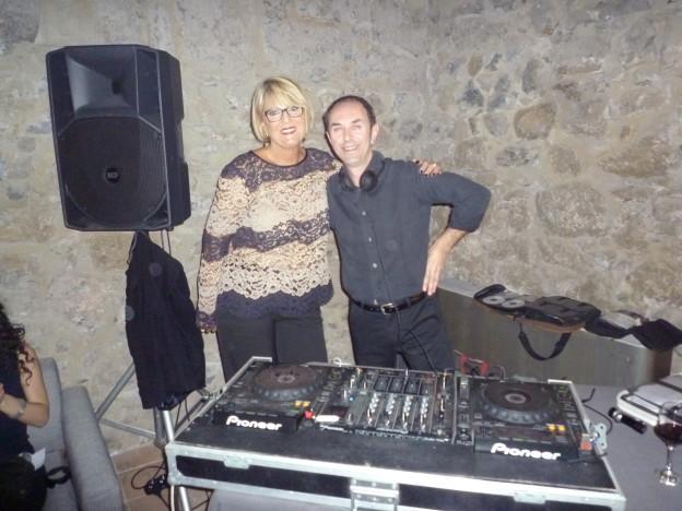 MIRELLA CON IL DJ ,MITICO ROBERTO SAMPERI