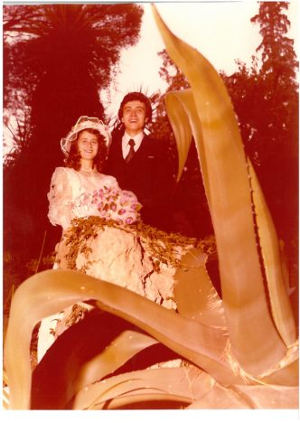France e Matteo il giorno del Matrimonio