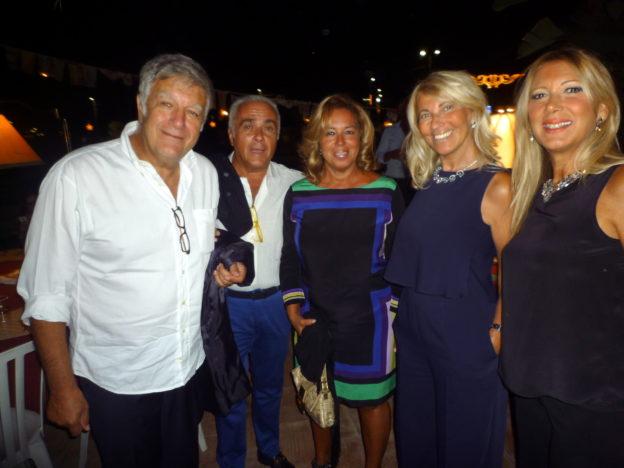 DELFO E MARIELLA MATARAZZO CON PIPPO E GIOVANNA PAPPALARDO
