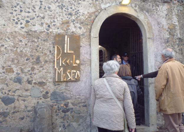 INGRESSO DEL PICCOLO MUSEO